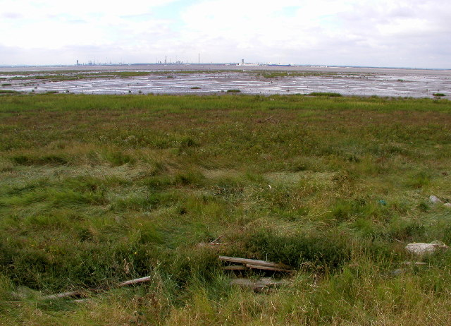 Looking across the Humber
