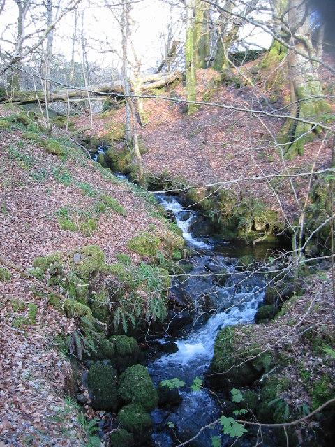 Waterfall in Morvern