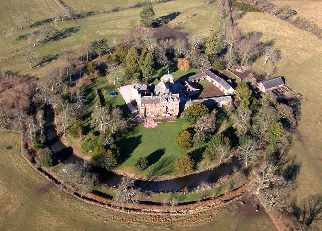 Scaleby Castle, Cumbria