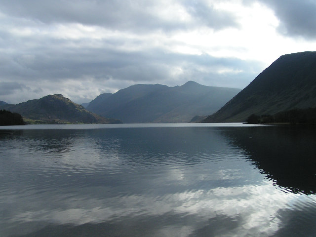 Red Pike and High Stile from Crummock Water