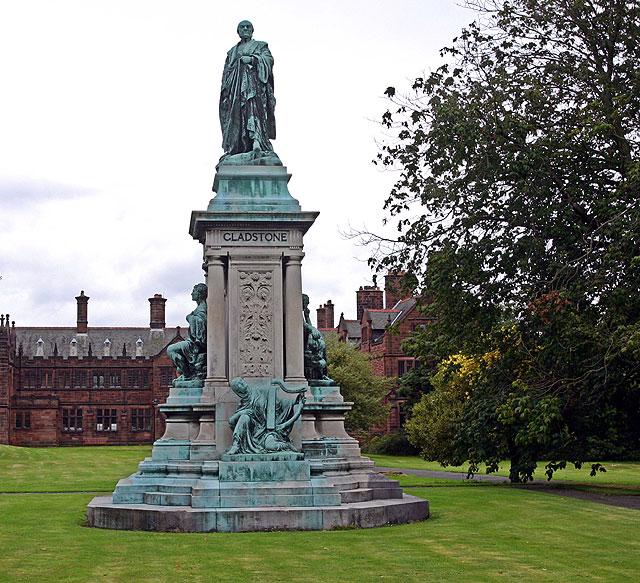 Gladstone's Statue
