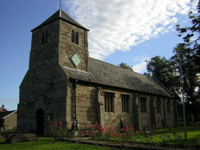 St.Michael's church, Thorpe-on-the-Hill, Lincs.