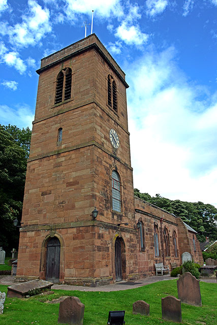 St. Nicholas' church, Burton