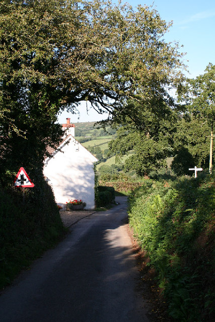 Luppitt: east from Greenway Farm