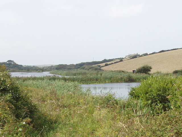 Pools by Trenearne Bridge, near St Merryn