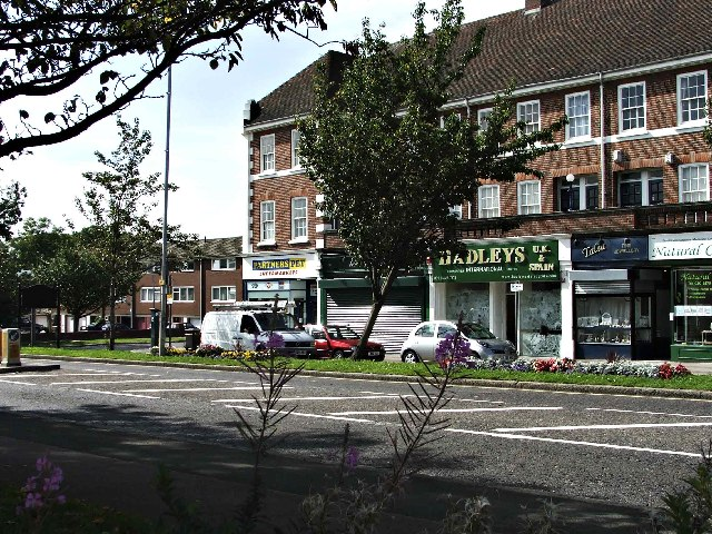 Shops in Cockfosters