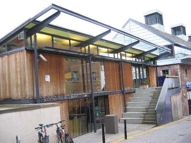 Scottish Poetry Library, Crichton's Close, Canongate, Edinburgh