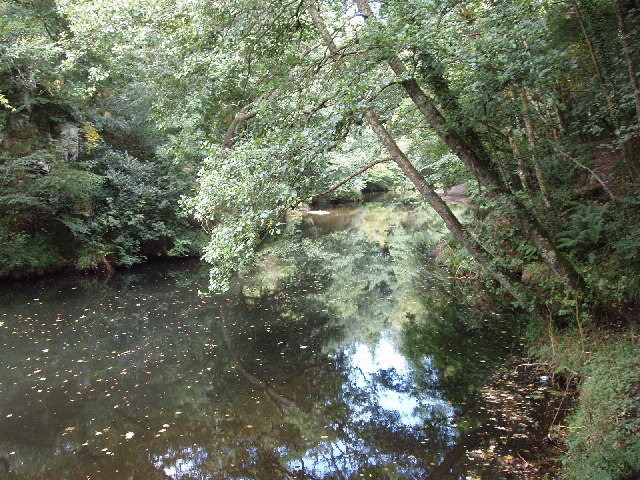 Camel river at Dunmere Weir