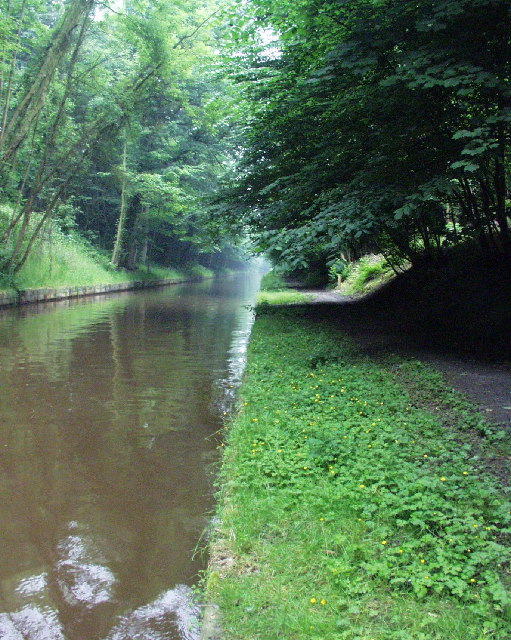 Chirk Cutting on the Llangollen Canal