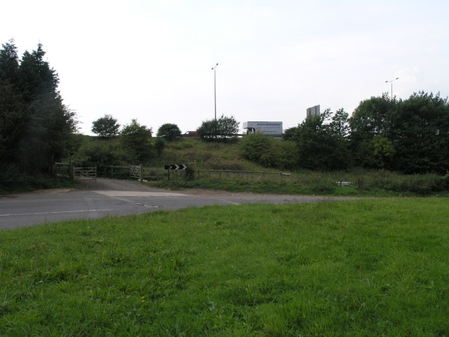 A Sharp Corner in the road near the M23