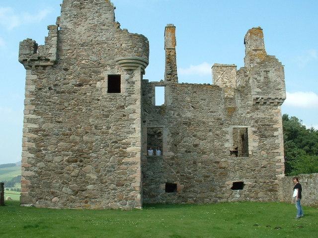 Glenbuchat Castle, Aberdeenshire.