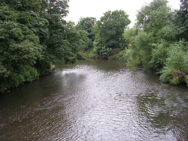River Mersey from Cheadle Bridge