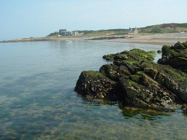 A view of Strathlene Sands, Portessie, Buckie