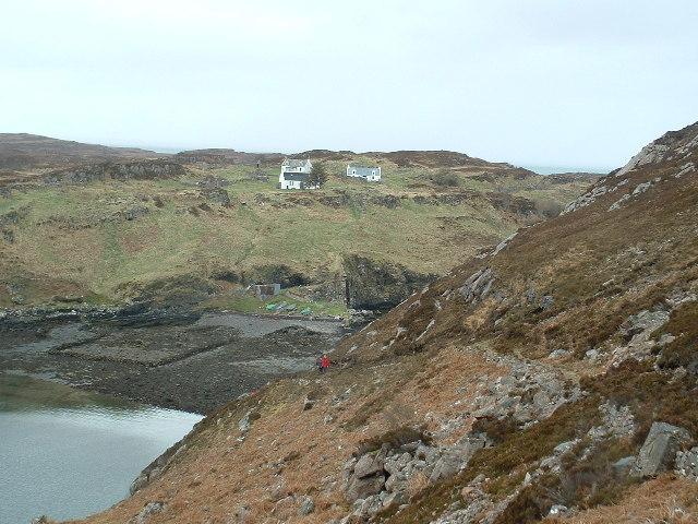 Eilean Fladday (Fladda), Raasay, Skye