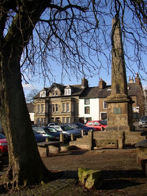 Sw Corner of The Square, Broughton-in-Furness