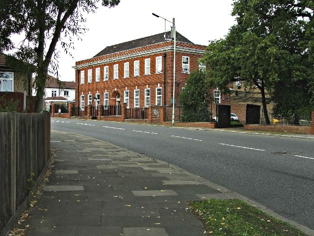 Telephone Exchange, Bourne Hill, Palmers Green