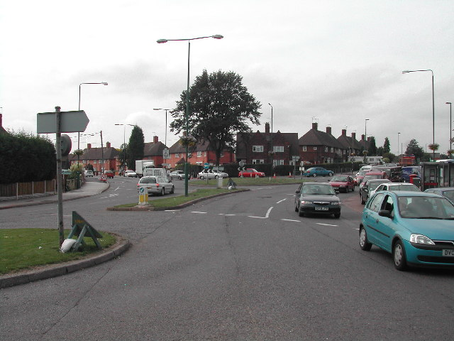 Junction of Beechdale Road and Strelley Road