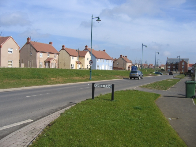 School Lane, Lower Cambourne, Cambs