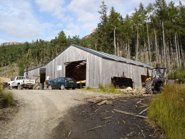 Dundonnell Timber sawmill