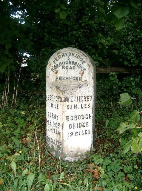 Milestone, Aberford