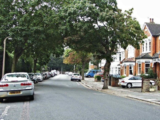 Old Park Road, Palmers Green