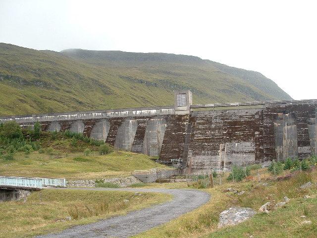 Loch an Daimh Dam