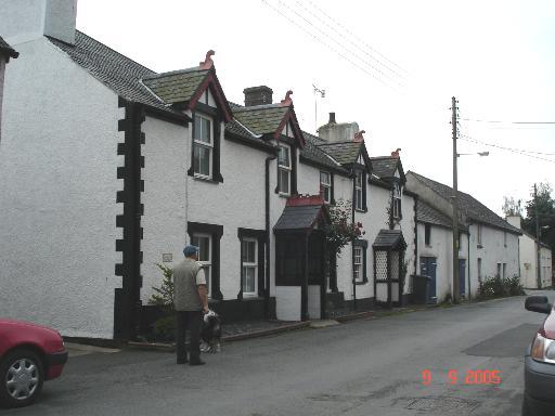 Cottages at Eglwysbach