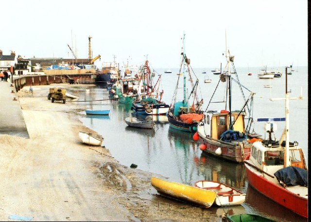 Fishing boats at Old Leigh