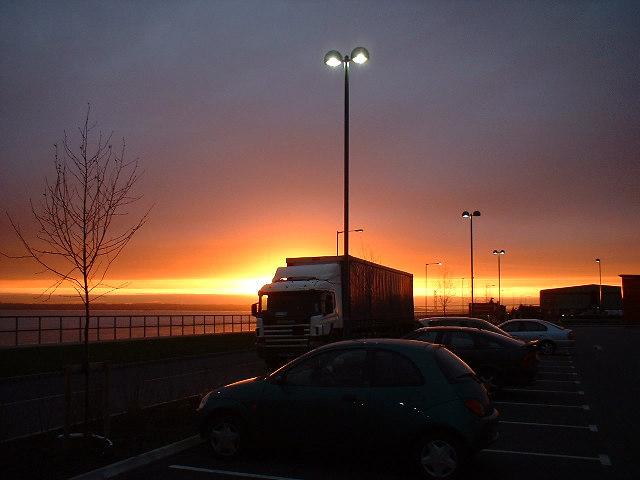 St. Andrew's Quay - Sunset