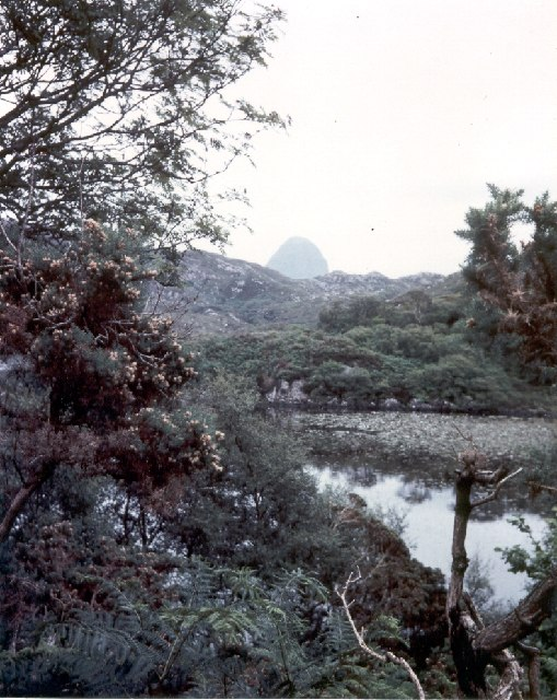 Loch Culag with Suilven in the distance