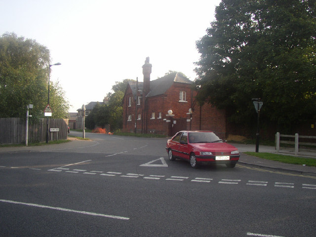 Snailwell - Fordham Road Junction, Newmarket, Suffolk