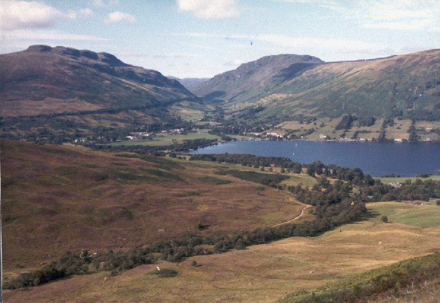 Loch Earn from the slopes of Ben Vorlich