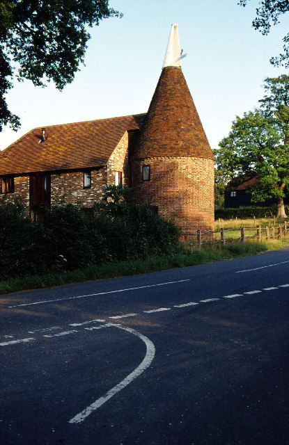 Converted oast house near Penshurst