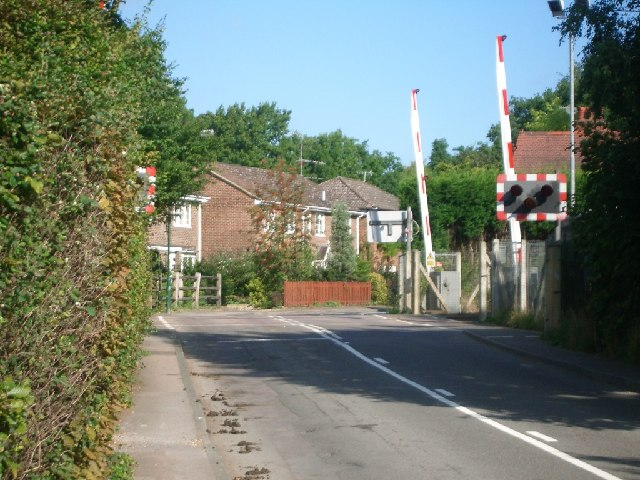 Level crossing at Blundel Lane