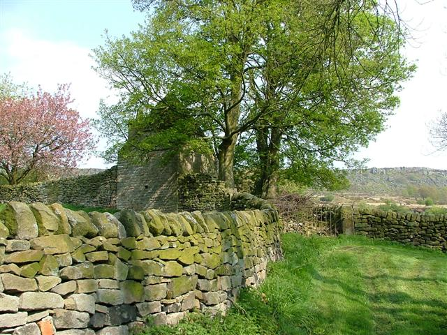 Old Jailhouse in Curbar village