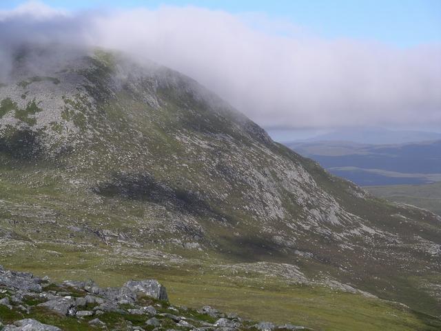 NE Ridge, Beinn Liath Mhor Fannaich