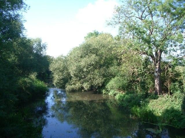 River Mole at Cobham