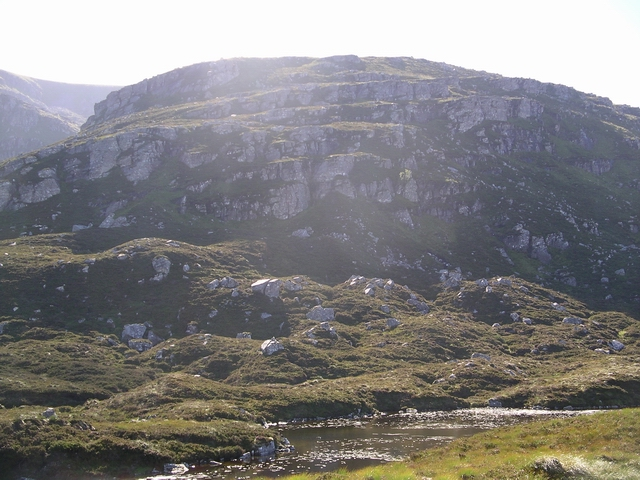 Crags above Loch Odhar