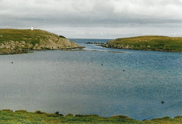 East Pool and Bard Sound, Mousa