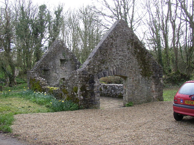 Ruined Mill, St Florence