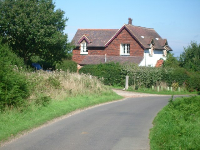 House on the west side of Stonyrock Lane