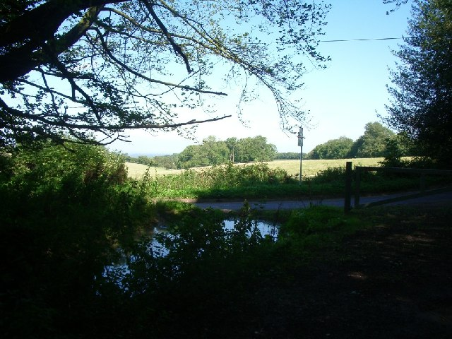 Junction of Drove Road (bridleway) and Ranmore Common Road