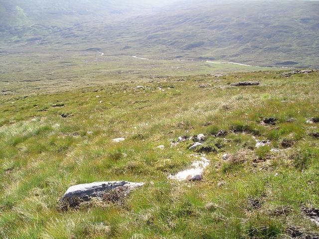 E Ridge, Creag Dhubh Fannaich