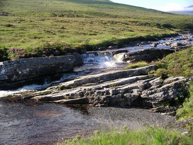 Waterfall,  Abhainn an Torrain Duibh