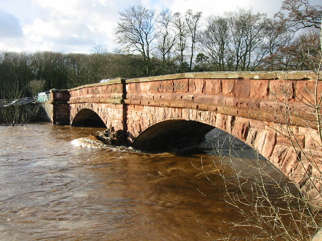 Bolton Bridge across the River Eden
