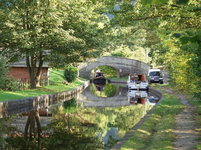 Llangollen Canal at Bryn Howell