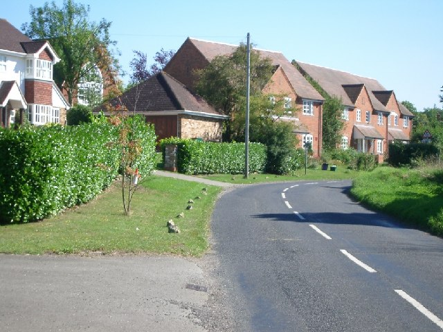 Houses in Ripley Lane, West Horsley