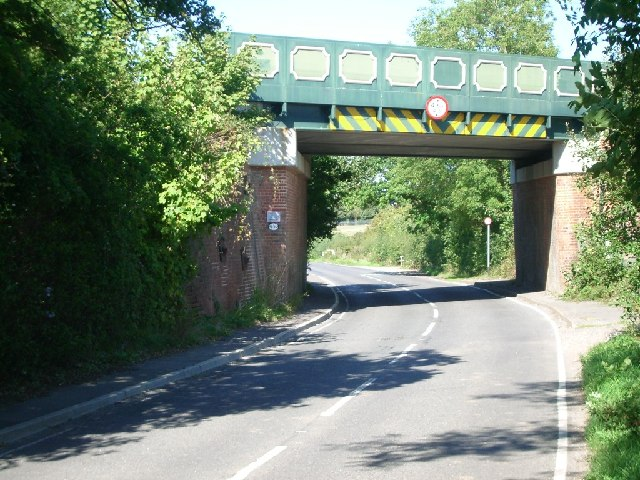 Railway bridge over The Street, West Horsley