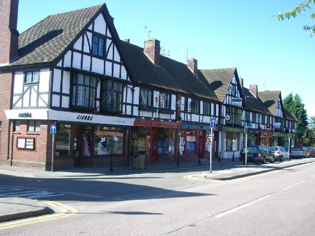 Parade of shops in East Horsley