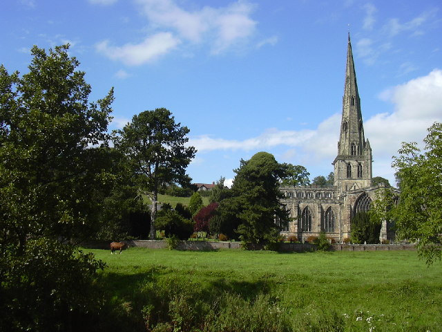 St Oswald's Church, Ashbourne